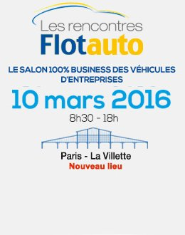 "Mapping Control will be at the ""Recontres Flotauto"" Salon - STAND No. 146"