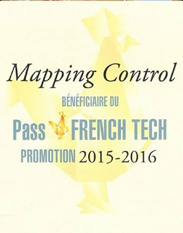 MAPPING CONTROL RECEIVES ITS PASS FRENCH TECH DIPLOMA